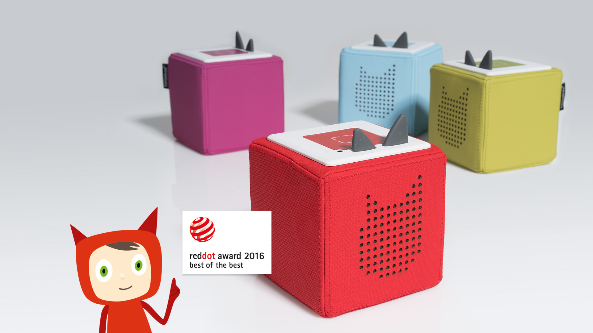 Toniebox holt den Red Dot Award